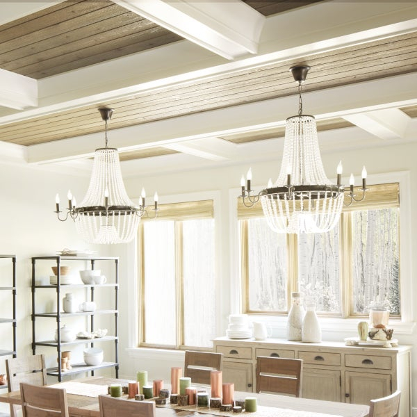 Top 5 Light Fixtures For A Harmonious Dining Room With Regard To Warner Robins 3 Light Lantern Pendants (Image 17 of 25)