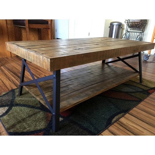 Top Product Reviews For Carbon Loft Oliver Modern Rustic For Carbon Loft Oliver Modern Rustic Natural Fir Coffee Tables (View 4 of 25)