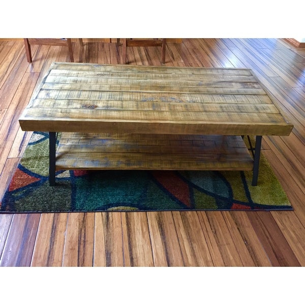 Top Product Reviews For Carbon Loft Oliver Modern Rustic Within Carbon Loft Oliver Modern Rustic Natural Fir Coffee Tables (View 7 of 25)