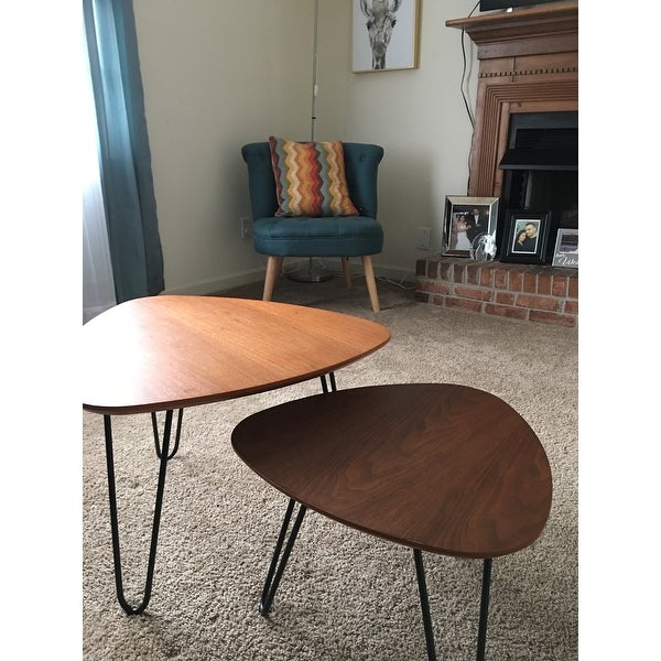 Top Product Reviews For Carson Carrington Arendal Hairpin Inside Carson Carrington Arendal Guitar Pick Nesting Coffee Tables (View 4 of 25)