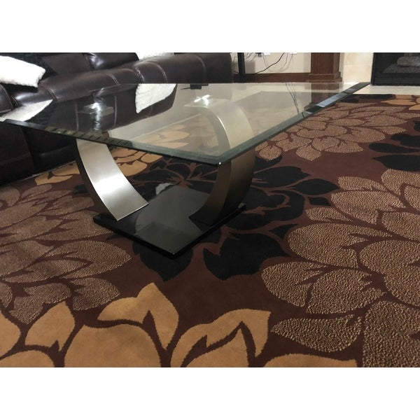 Top Product Reviews For Furniture Of America Carmella Satin Regarding Carmella Satin Plated Coffee Tables (View 2 of 50)