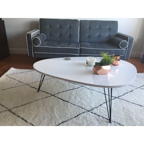 Top Product Reviews For Safavieh Mid Century Wynton White With Regard To Safavieh Mid Century Wynton White Black Lacquer Modern Coffee Tables (View 2 of 25)