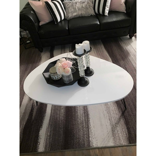 Top Product Reviews For Safavieh Mid Century Wynton White Within Safavieh Mid Century Wynton White Black Lacquer Modern Coffee Tables (View 7 of 25)