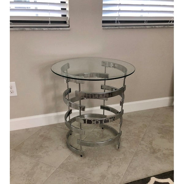Top Product Reviews For Silver Orchid Bardeen Round End For Silver Orchid Bardeen Round Coffee Tables (View 14 of 25)