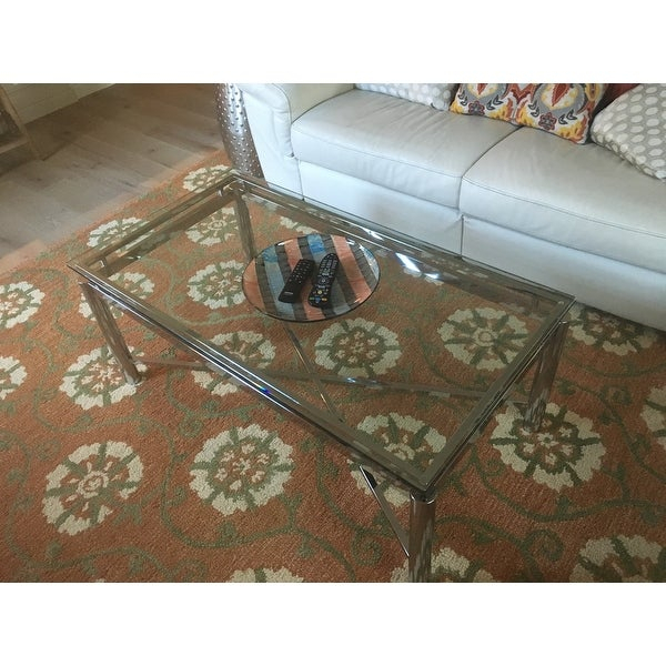 Top Product Reviews For Strick & Bolton Jules Chrome And Within Strick & Bolton Jules Chrome And Glass Coffee Tables (View 6 of 25)
