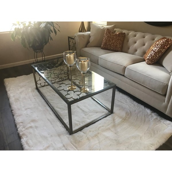 Top Product Reviews For The Curated Nomad Quatrefoil Throughout The Curated Nomad Quatrefoil Goldtone Metal And Glass Coffee Tables (View 3 of 50)
