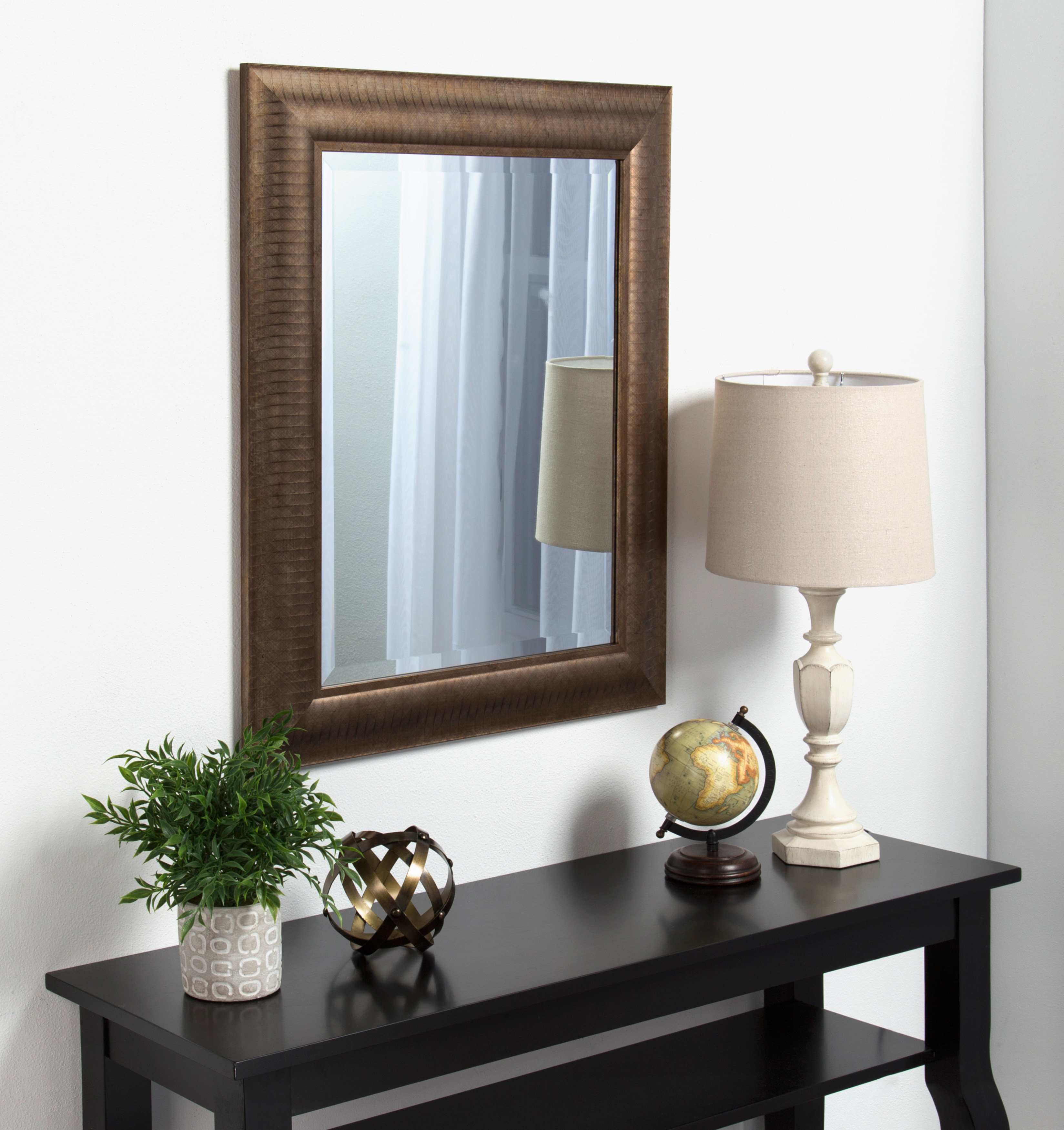Tora Traditional Beveled Accent Mirror Regarding Willacoochee Traditional Beveled Accent Mirrors (Image 14 of 20)