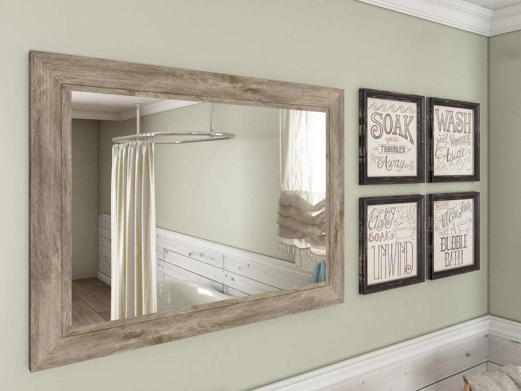 Traditional Beveled Accent Mirror | Home | Grey Wall Mirrors For Traditional/coastal Accent Mirrors (View 5 of 20)