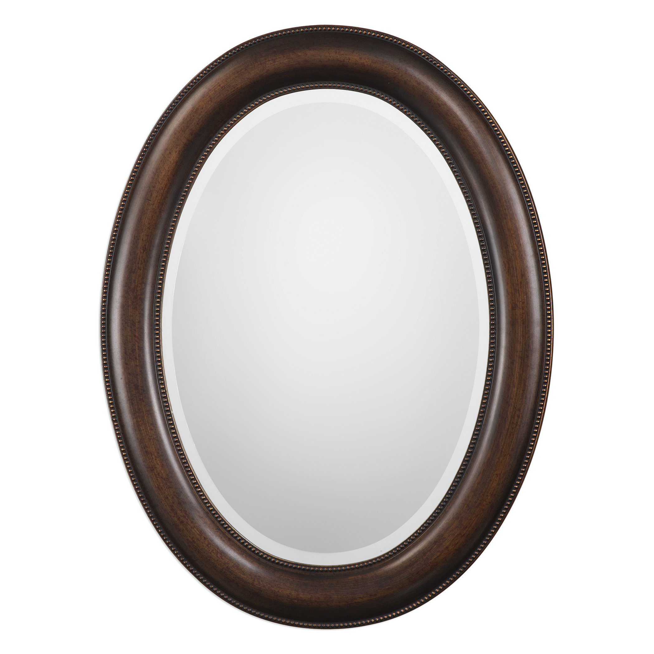 Traditional Beveled Distressed Accent Mirror For Alie Traditional Beveled Distressed Accent Mirrors (Image 20 of 20)