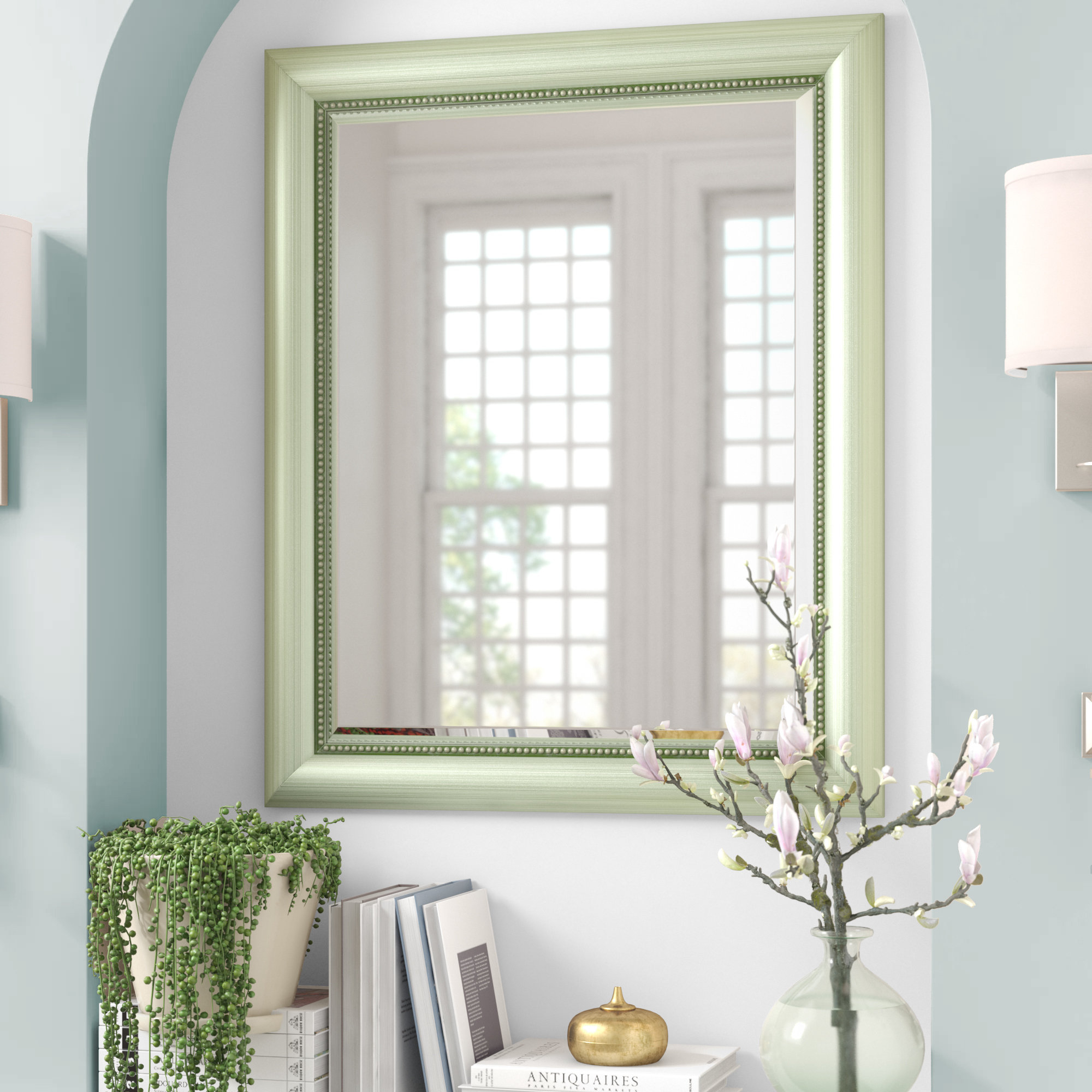 Traditional Beveled Wall Mirror In Traditional Beveled Wall Mirrors (View 10 of 20)