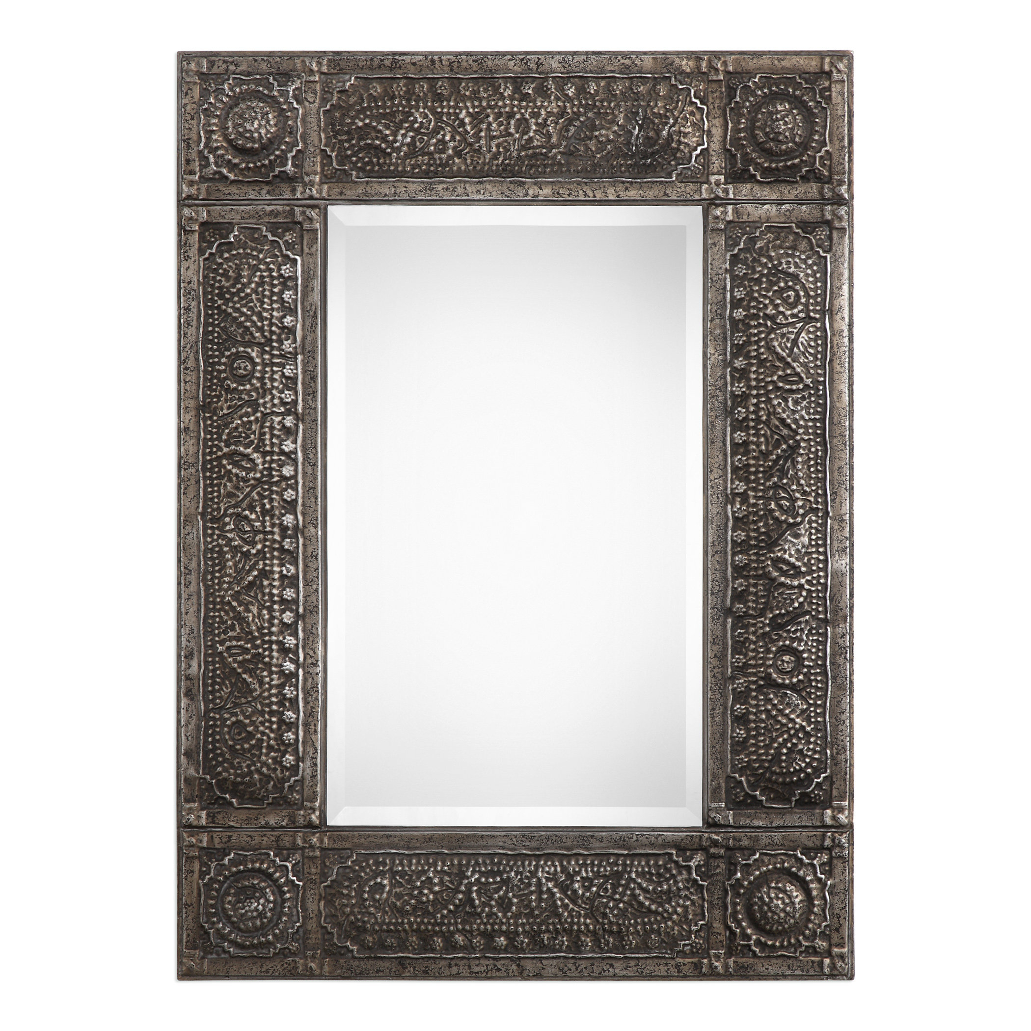 Traditional Metal Accent Mirror Within Ulus Accent Mirrors (View 9 of 20)