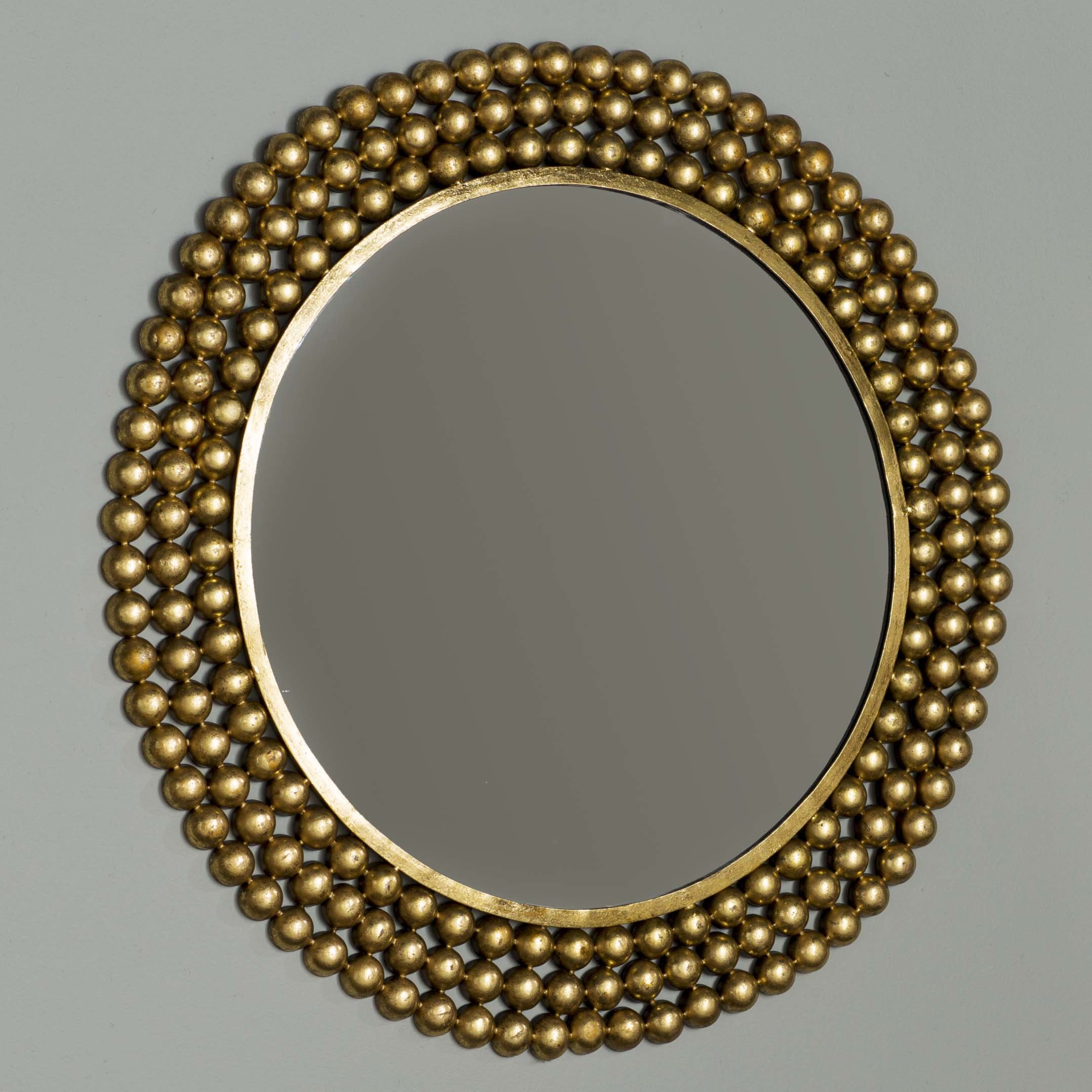 Traditional Round Metal Frame Accent Mirror Throughout Bracelet Traditional Accent Mirrors (View 3 of 20)