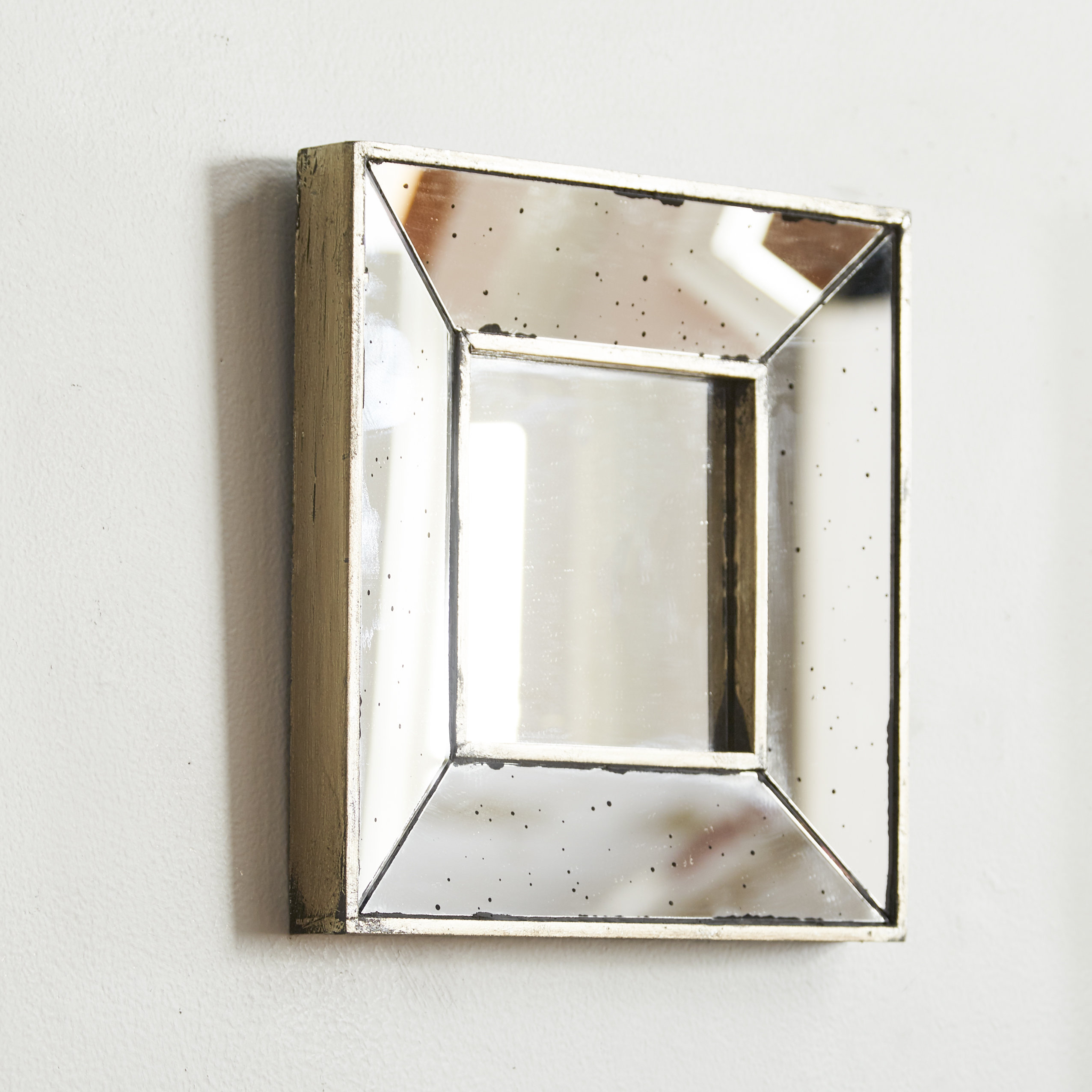 Traditional Square Glass Wall Mirror With Regard To Traditional Square Glass Wall Mirrors (Image 17 of 20)