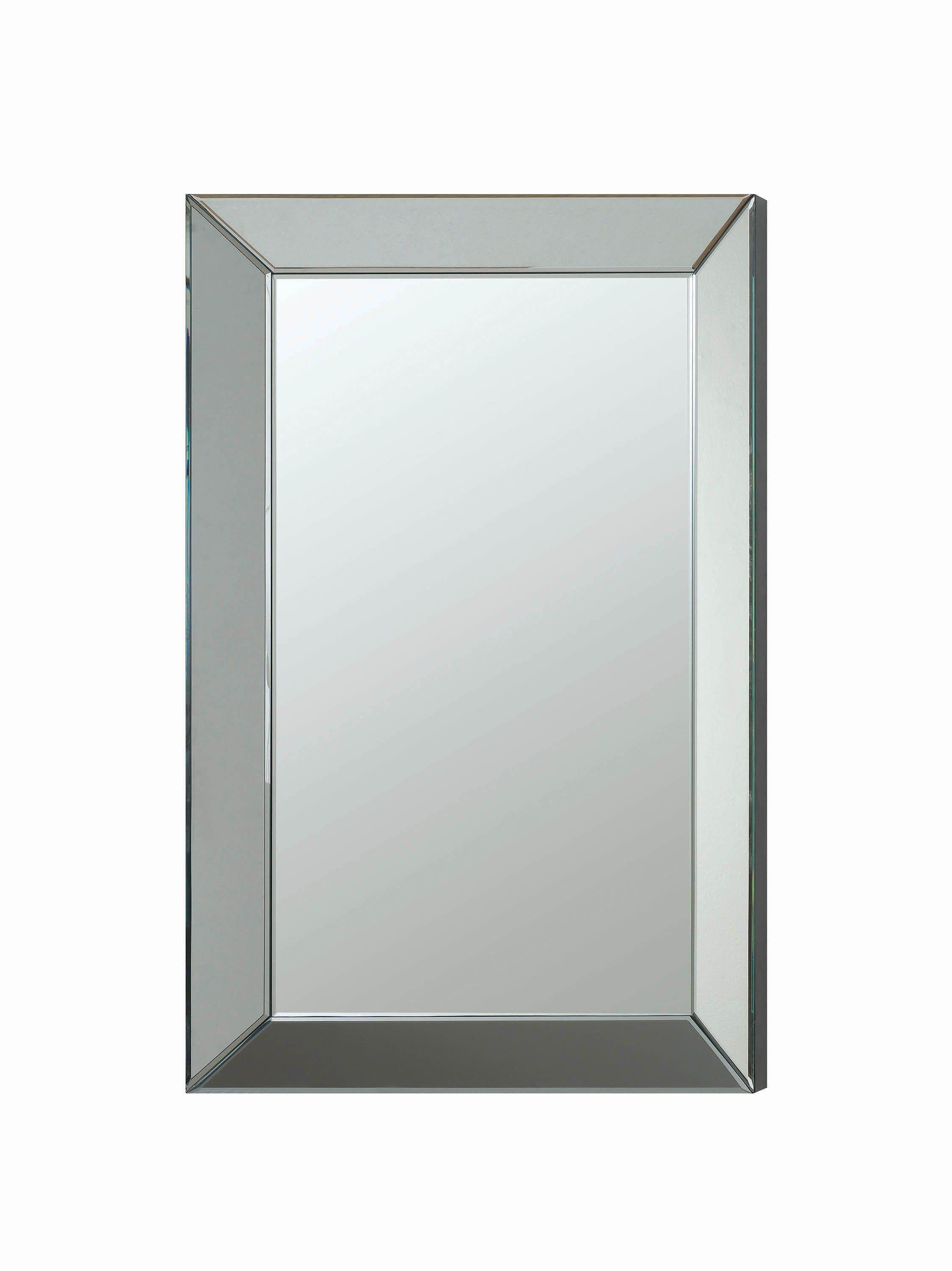 Transitional Rectangle Accent Mirrorcoaster Intended For Rectangle Accent Mirrors (View 9 of 20)