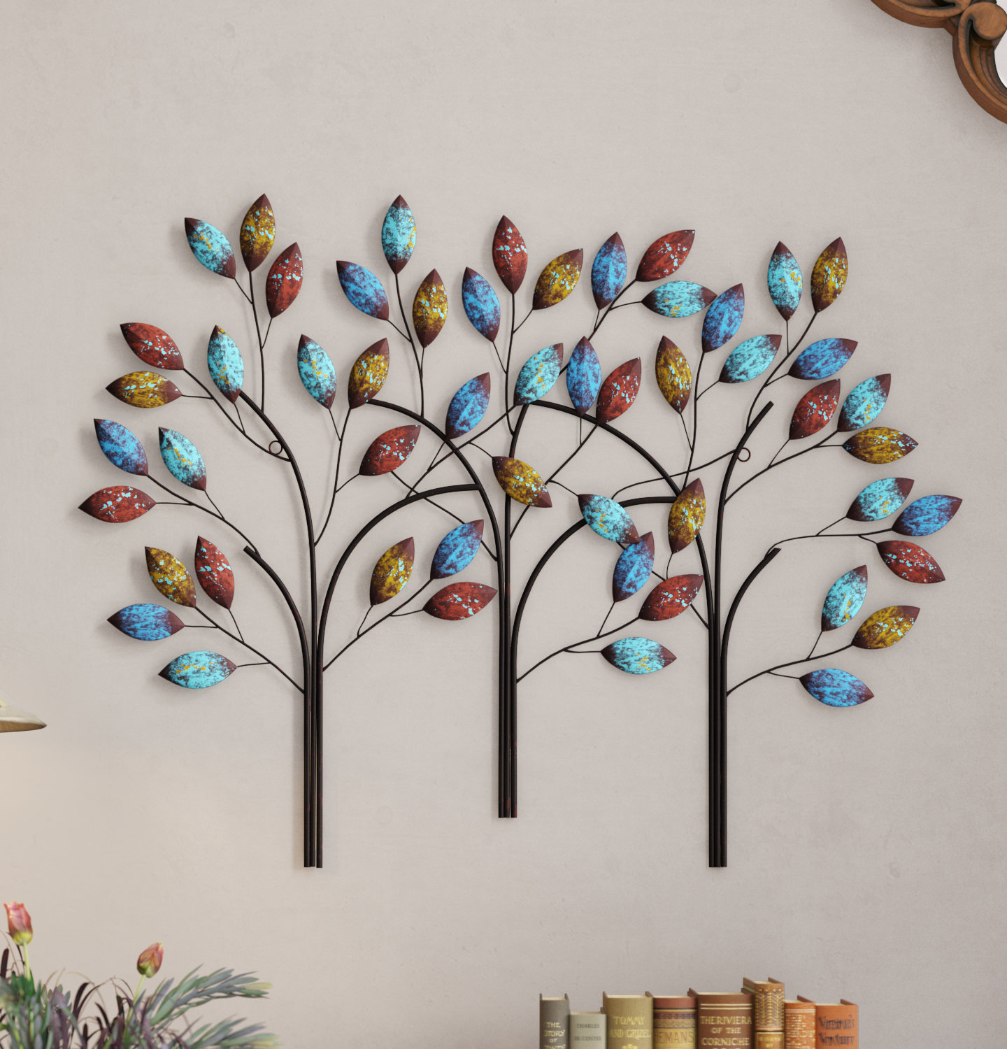 Tree Branch Wall Mirror | Wayfair Intended For Cromartie Tree Branch Wall Mirrors (View 12 of 20)