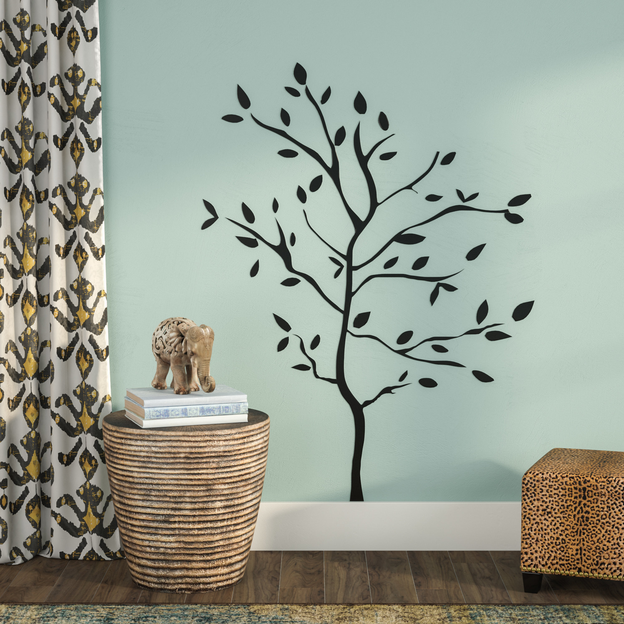 Tree Branch Wall Mirror | Wayfair Regarding Cromartie Tree Branch Wall Mirrors (Image 14 of 20)