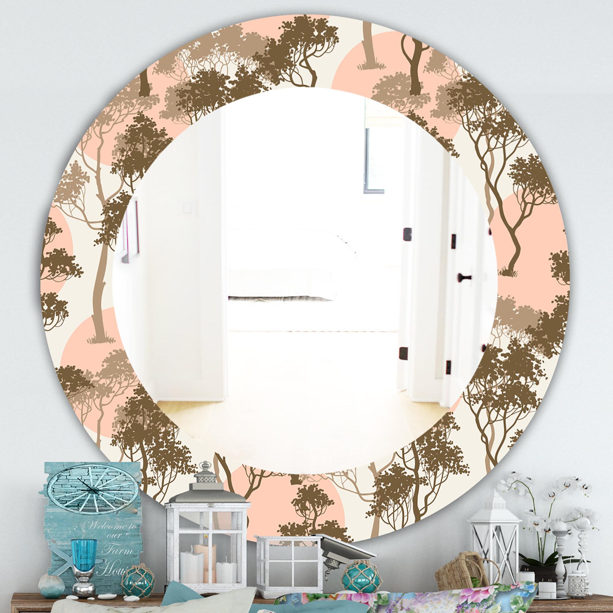Tree Branch Wall Mirror | Wayfair Within Cromartie Tree Branch Wall Mirrors (View 6 of 20)
