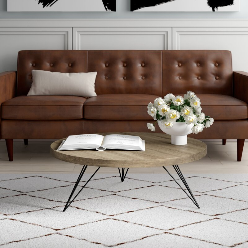 Treece Coffee Table With Tray Top In Simple Living Manhattan Coffee Tables (View 12 of 25)