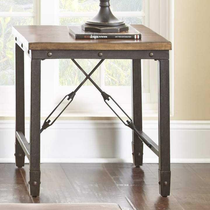 Trent Austin Design Alma End Table In 2019 | Products | End With Carbon Loft Lawrence Reclaimed Wood 42 Inch Coffee Tables (View 37 of 50)