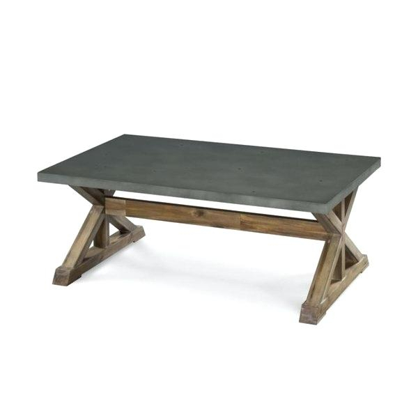 Trestle Coffee Table – Appyhomes (Image 21 of 25)