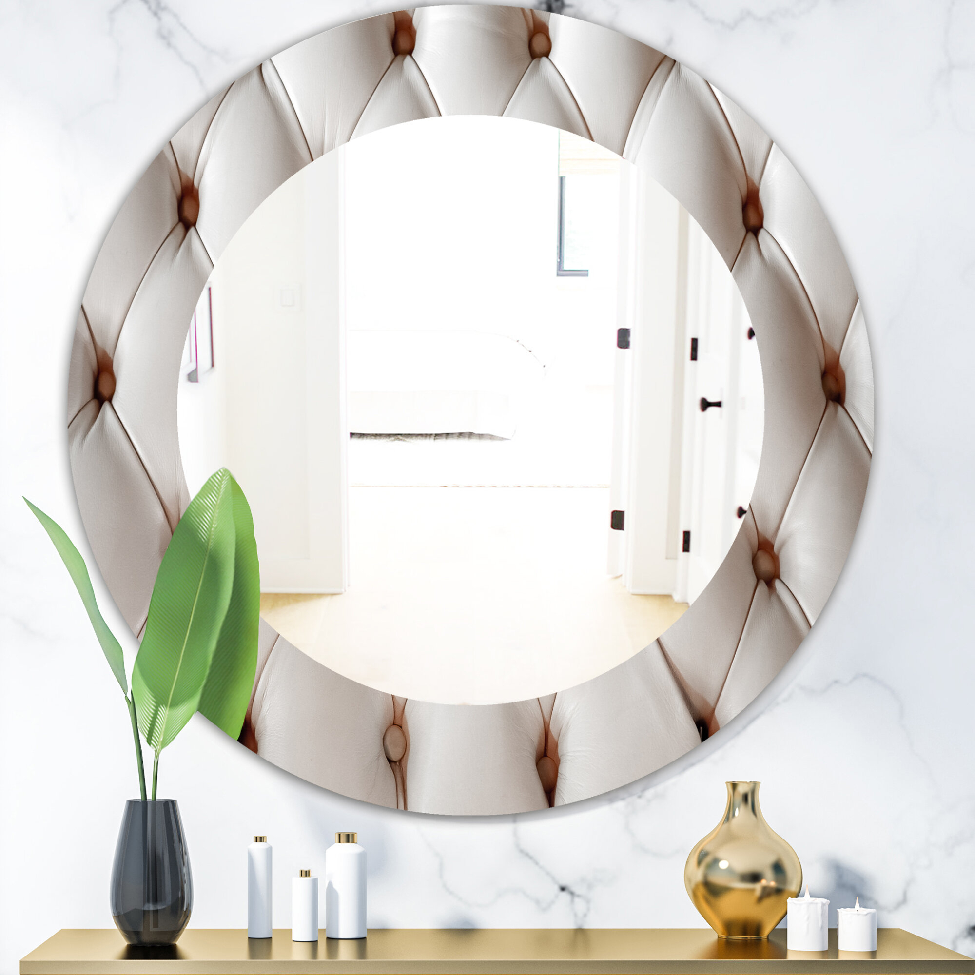 Triple Diamond Mirror | Wayfair In Traditional Frameless Diamond Wall Mirrors (Image 19 of 20)