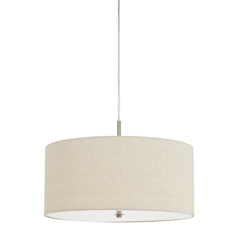 Tristian 3 Light Drum Chandelier For Montes 3 Light Drum Chandeliers (View 11 of 20)