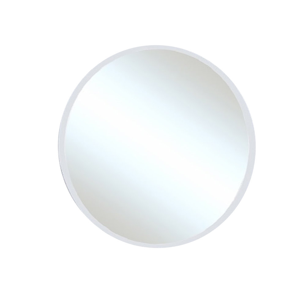 Tukwila Round Frameless Bathroom/vanity Wall Mirror Intended For Celeste Frameless Round Wall Mirrors (View 9 of 20)