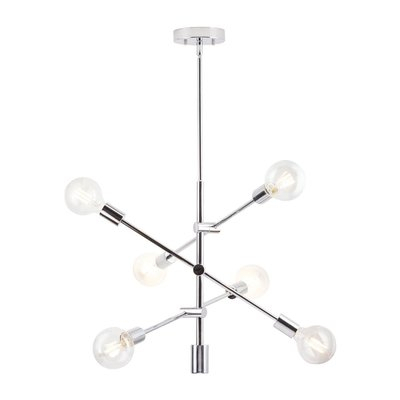Turn On The Brights Eladia 6 Light Chandelier   Products In Pertaining To Eladia 6 Light Sputnik Chandeliers (View 6 of 20)