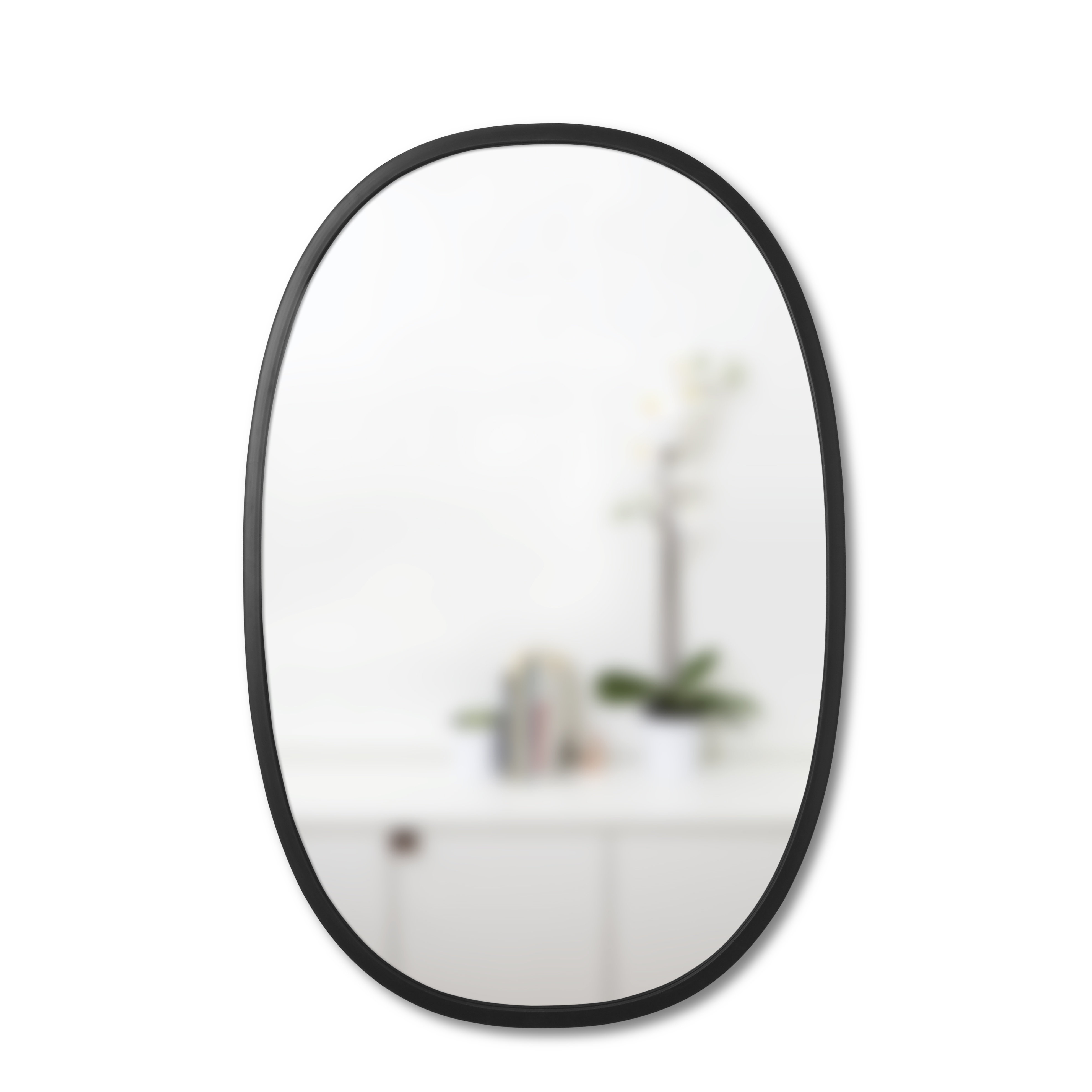 Umbra Hub Modern Contemporary Accent Mirror Pertaining To Menachem Modern & Contemporary Accent Mirrors (View 20 of 20)