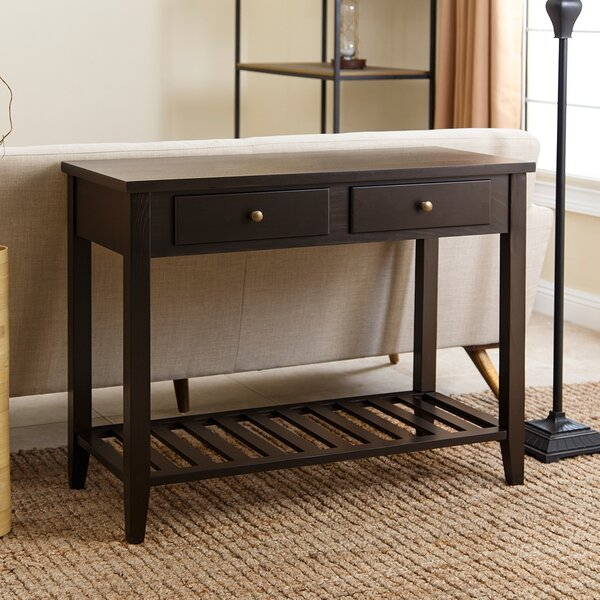 Under The Window Table | Wayfair With Regard To Jessa Rustic Country 54 Inch Coffee Tables (Image 23 of 25)