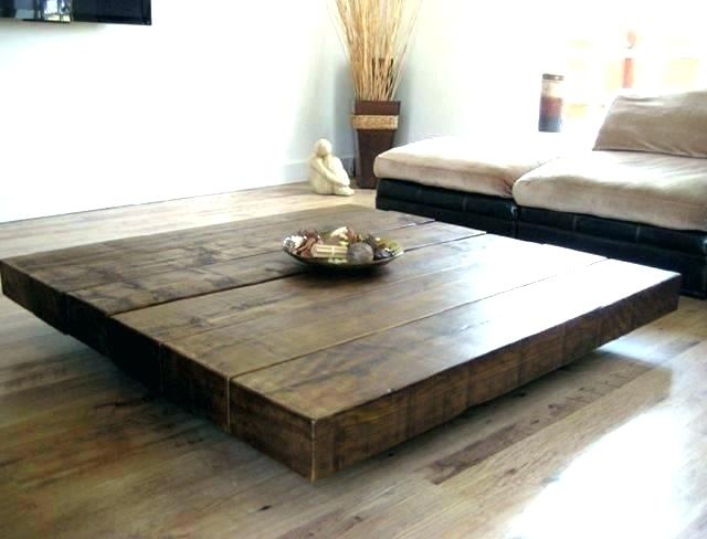 Unfinished Square Coffee Table – Hellocustomers (Image 38 of 50)