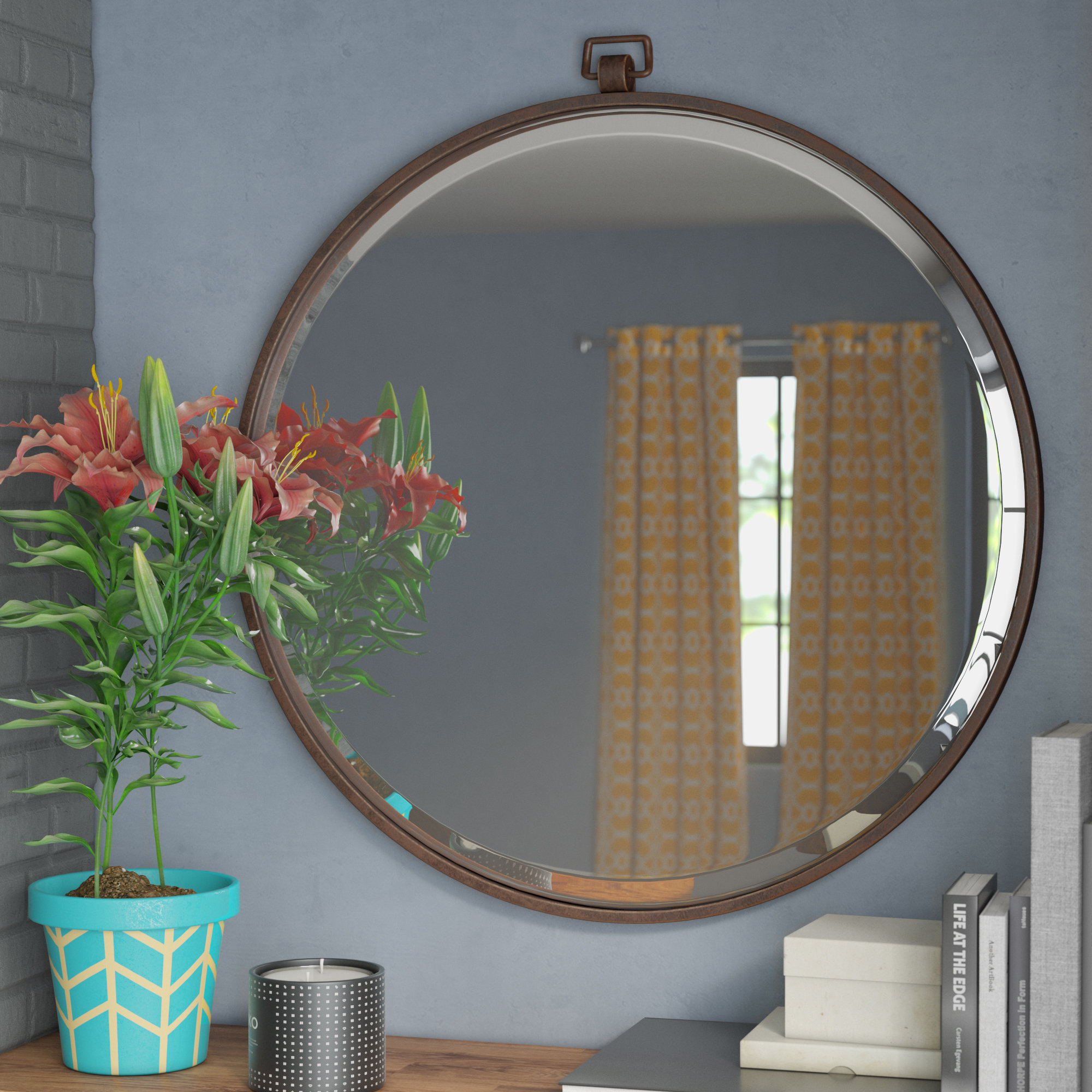 Union Rustic Alexus Full Length Mirror | Wayfair Inside Minerva Accent Mirrors (Photo 5 of 20)