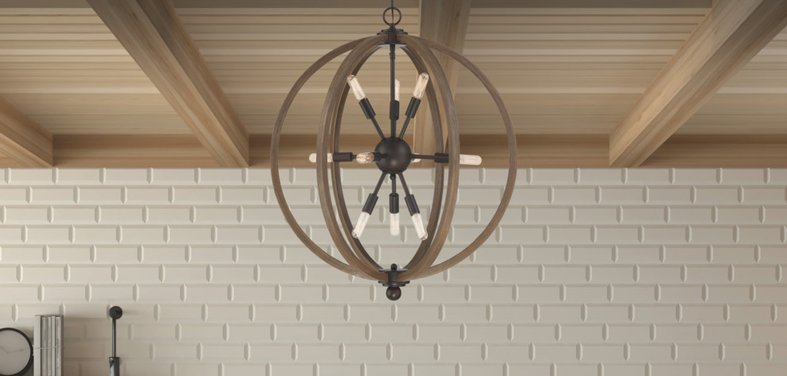 Up To 60% Off Industrial Pendants And Chandeliers With Devereaux 1 Light Single Globe Pendants (Image 24 of 25)