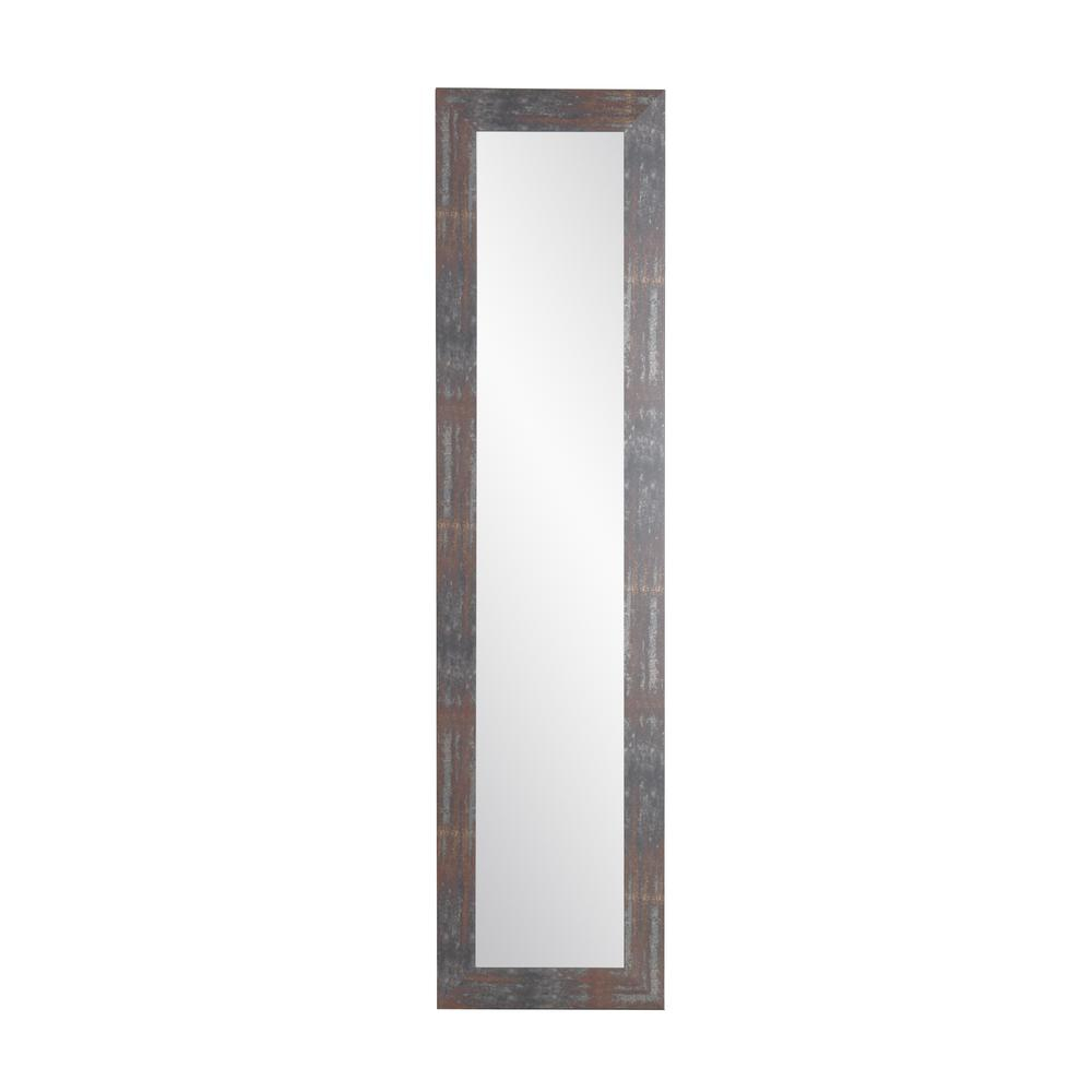 Urban Industrial Loft Slim Full Length Mirror Within Industrial Full Length Mirrors (View 3 of 20)