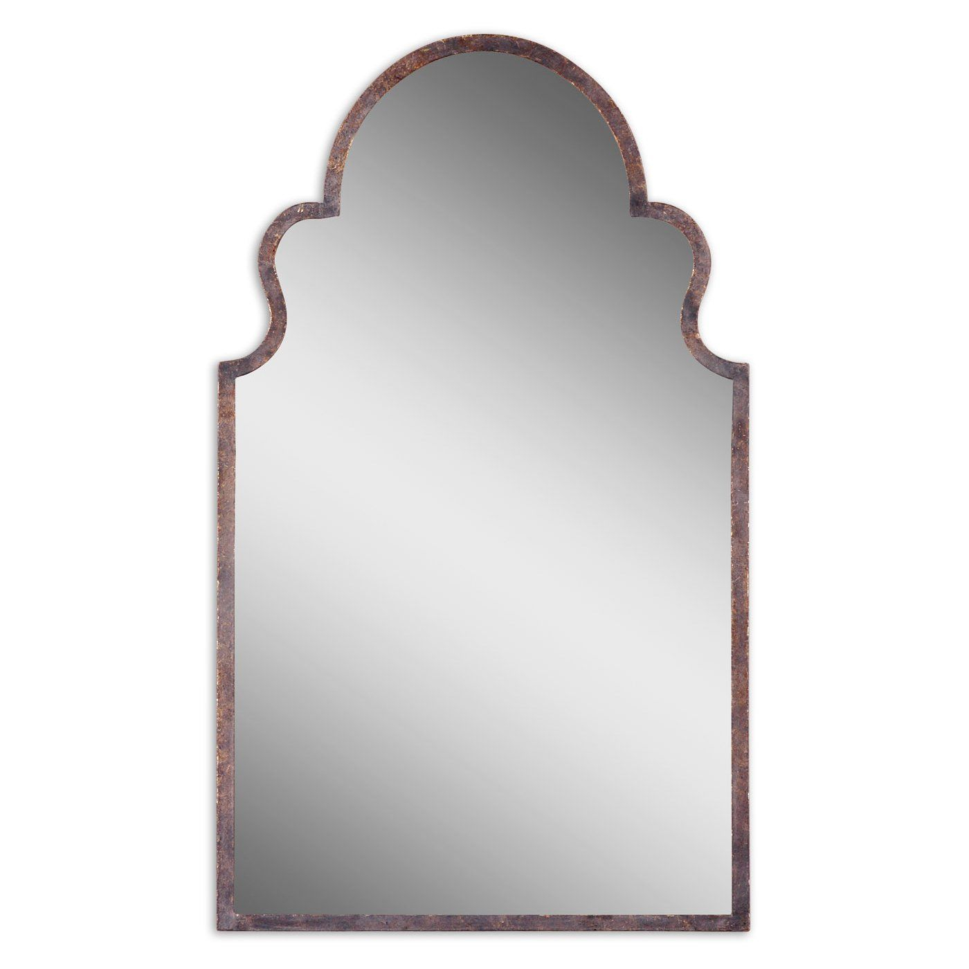 Uttermost 12668 P Brayden Arch Wall Mirror | Pool Bath Regarding Fifi Contemporary Arch Wall Mirrors (View 6 of 20)