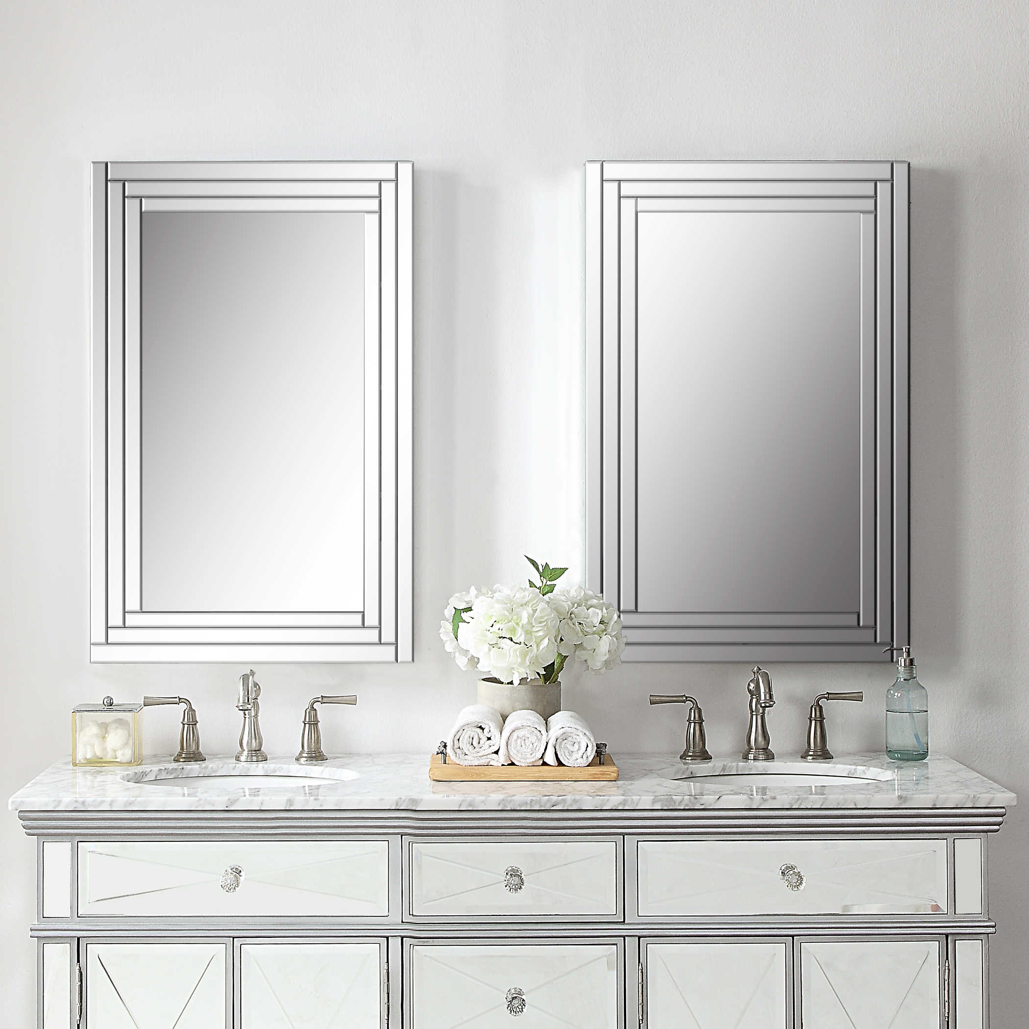Uttermost Alanna Frameless Vanity Mirror Within Vanity Mirrors (View 7 of 20)