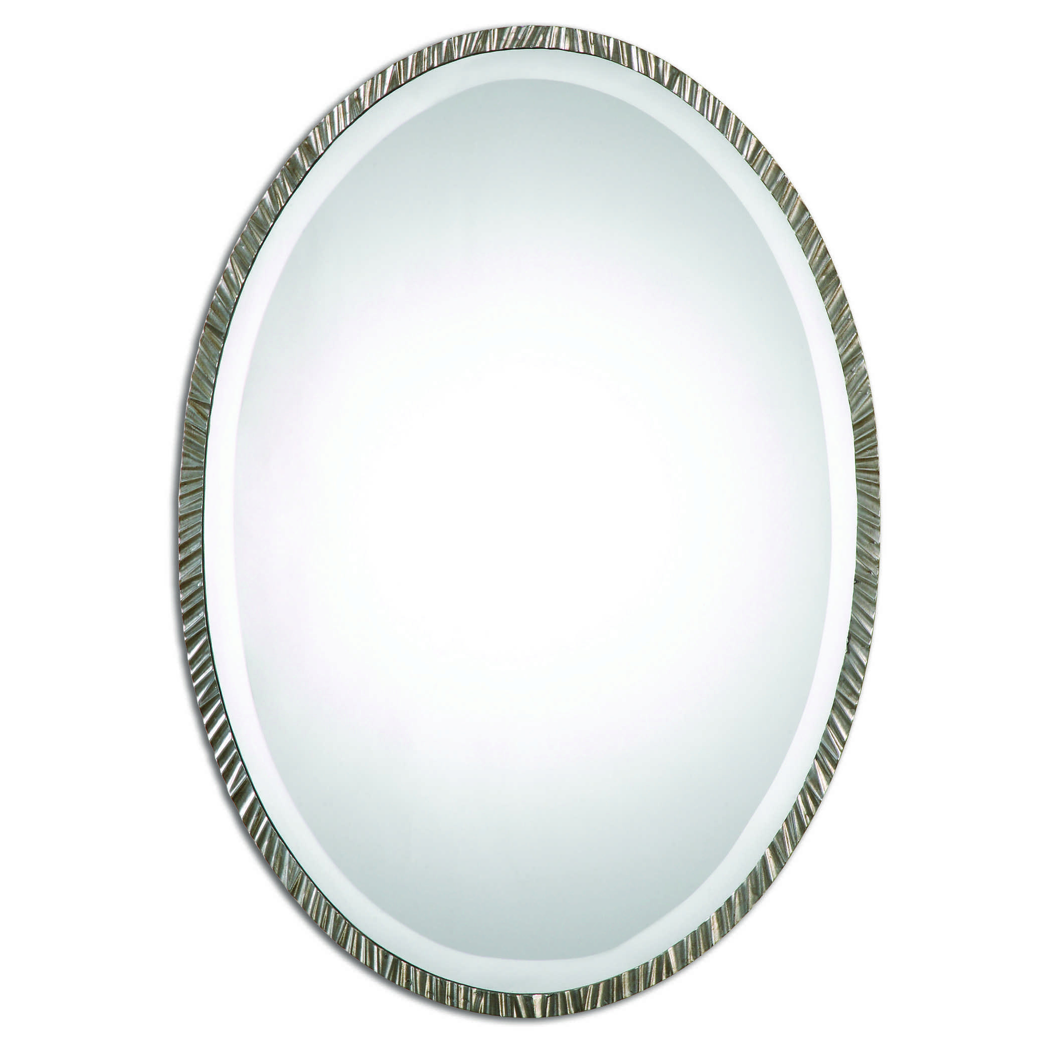 Uttermost Annadel Oval Wall Mirror Within Burnes Oval Traditional Wall Mirrors (Image 20 of 20)