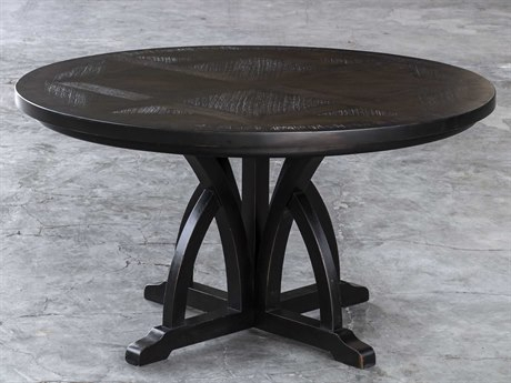 Uttermost Dining Tables | Luxedecor With Dravens Industrial Cherry Coffee Tables (Image 24 of 25)
