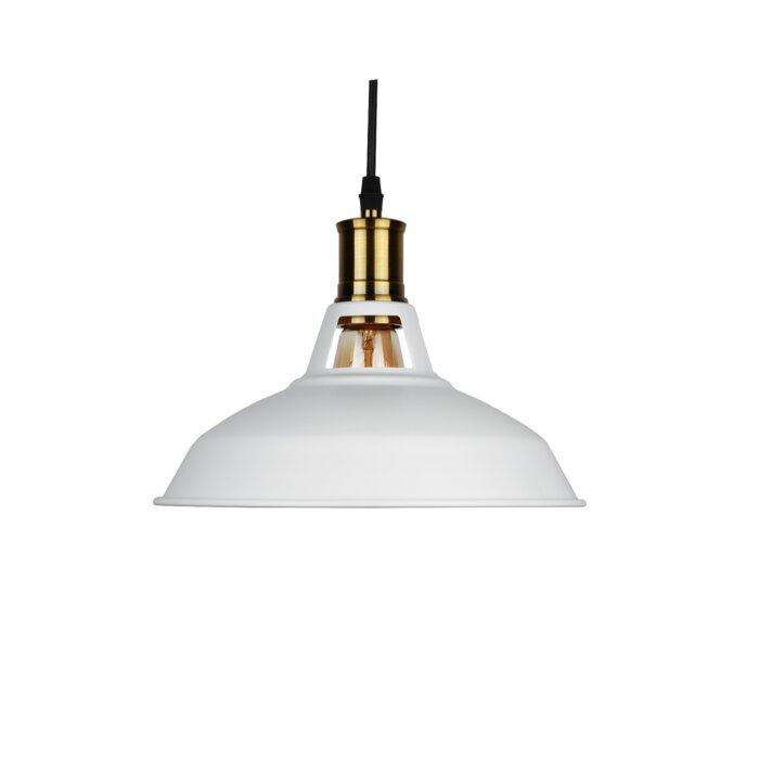 Vanwormer 1 Light Single Dome Pendant For Adriana Black 1 Light Single Dome Pendants (Image 22 of 25)