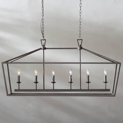 Varnum 4 Light Lantern Pendant | Home In 2019 | Kitchen With Varnum 4 Light Lantern Pendants (Image 10 of 20)