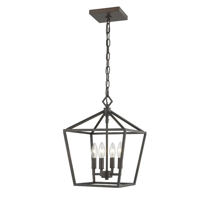 Varnum 4 Light Lantern Pendant Intended For Varnum 4 Light Lantern Pendants (Photo 10 of 20)