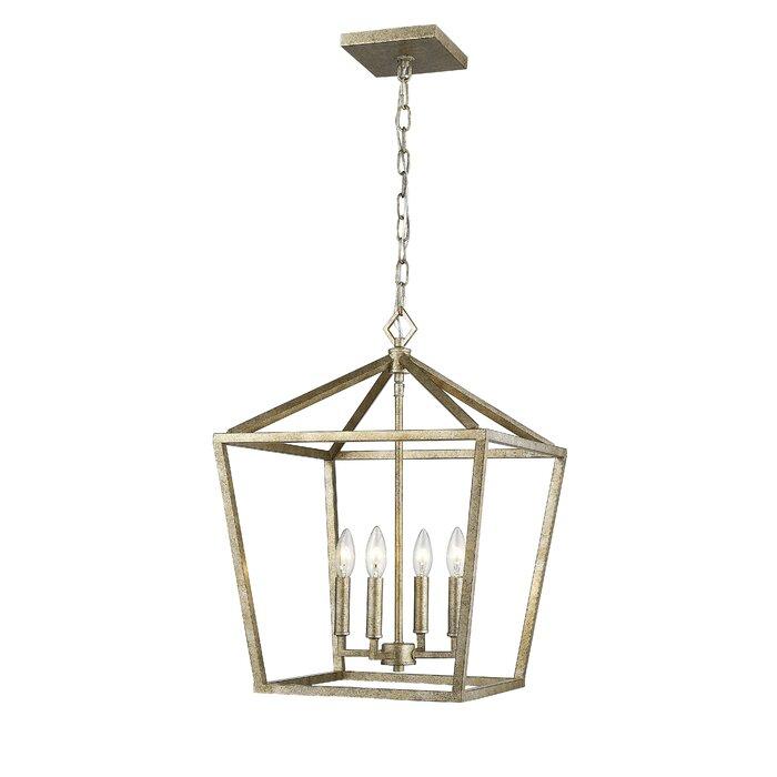 Varnum 4 Light Lantern Pendant Intended For Varnum 4 Light Lantern Pendants (Image 14 of 20)