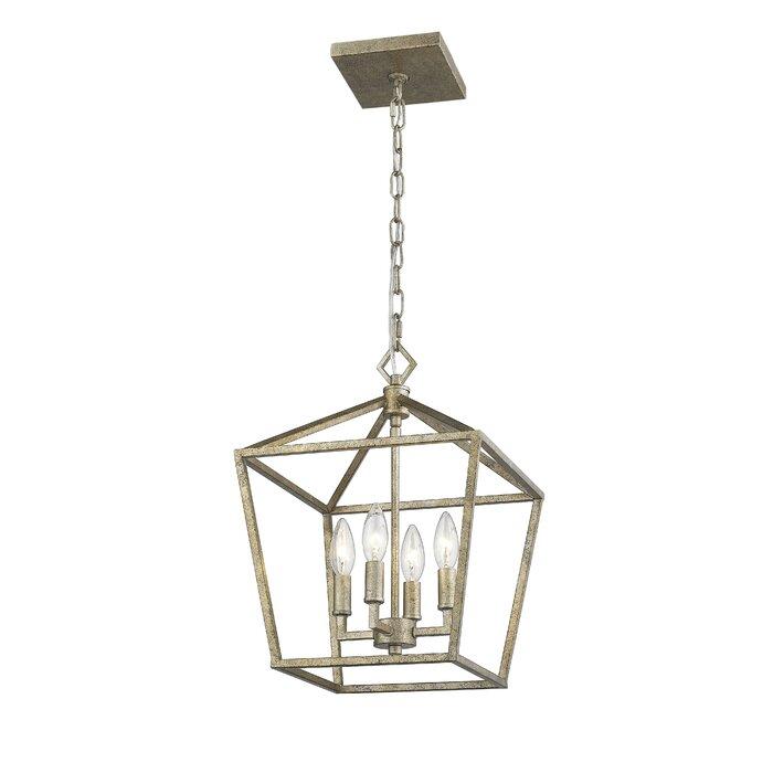 Varnum 4 Light Lantern Pendant With Varnum 4 Light Lantern Pendants (Image 19 of 20)