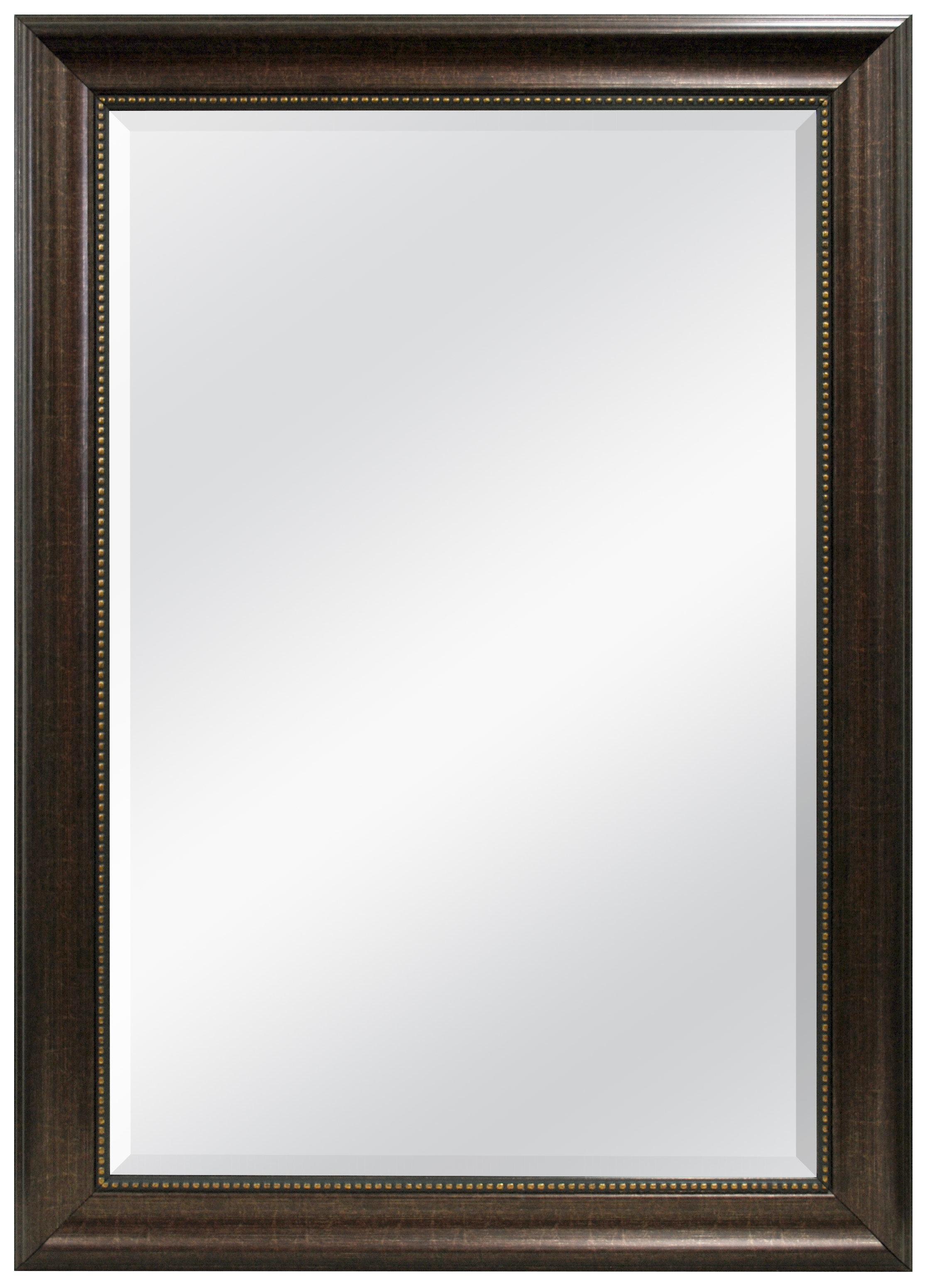 Vassallo Beaded Bronze Beveled Wall Mirror Inside Vassallo Beaded Bronze Beveled Wall Mirrors (Image 20 of 20)