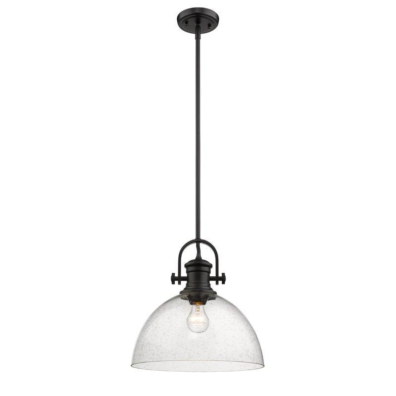 Vedder 1 Light Dome Pendant In Abernathy 1 Light Dome Pendants (Image 22 of 25)