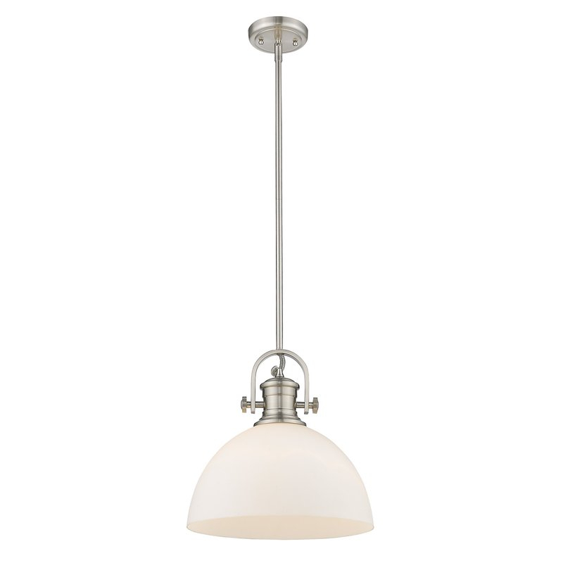 Vedder 1 Light Inverted Pendant With Abernathy 1 Light Dome Pendants (Photo 10 of 25)