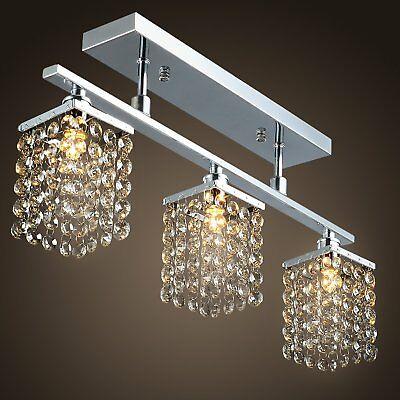 Venta Estados Unidos Stock Lightinthebox 3 Luz Colgante De Throughout Aurore 4 Light Crystal Chandeliers (Photo 19 of 20)