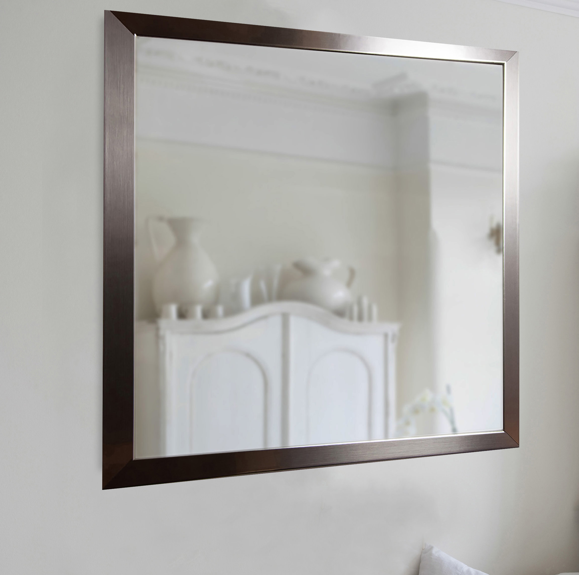 Very Large Wall Mirrors | Wayfair Intended For Phineas Wall Mirrors (Image 18 of 20)