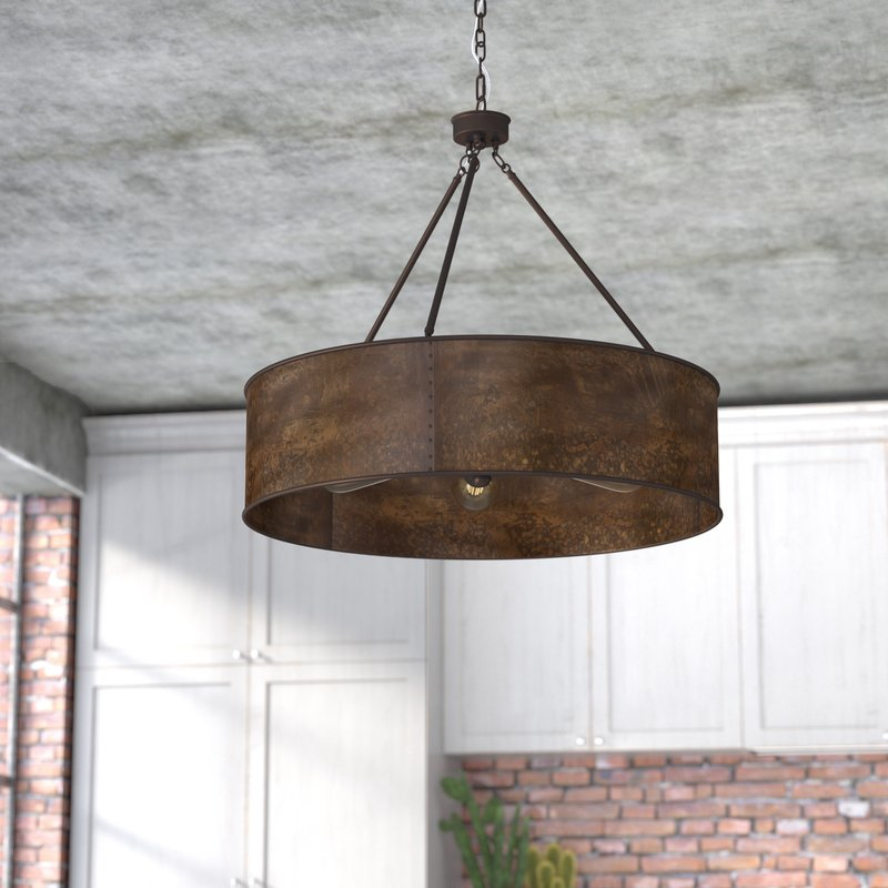 Featured Image of Vincent 5 Light Drum Chandeliers