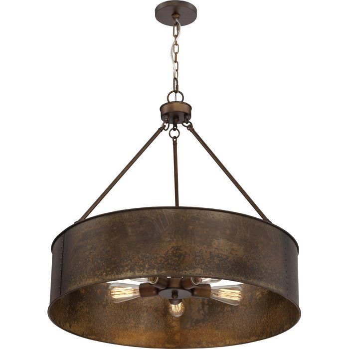 Vincent 5 Light Drum Chandelier | Lighting Digs | Pendant Pertaining To Vincent 5 Light Drum Chandeliers (Photo 4 of 25)